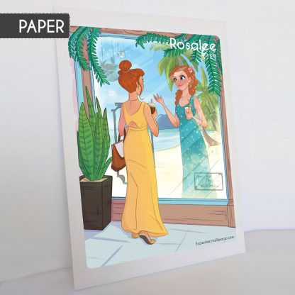 Rosalee Maxi Dress Sewing Pattern: Paper Version