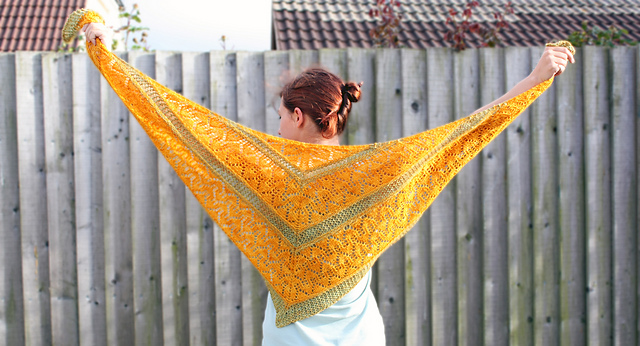 Kyra Shawl Knitting Pattern Pdf Experimental Space